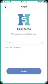 healthsync signup