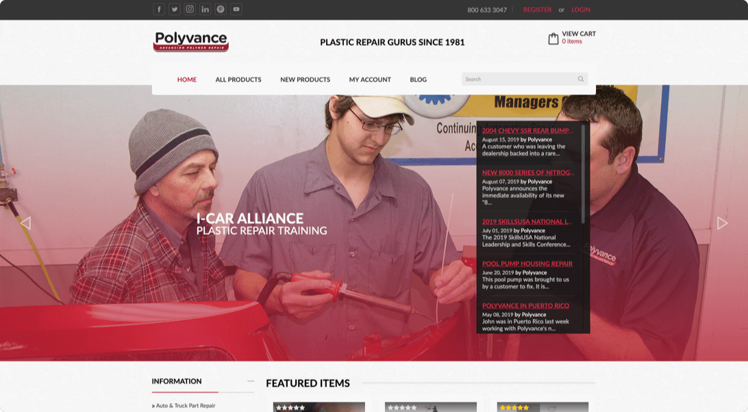 polyvance preview page