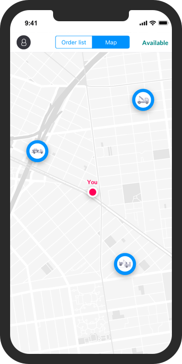 smart-roads map