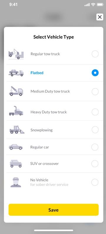 smart-roads vehicle-type