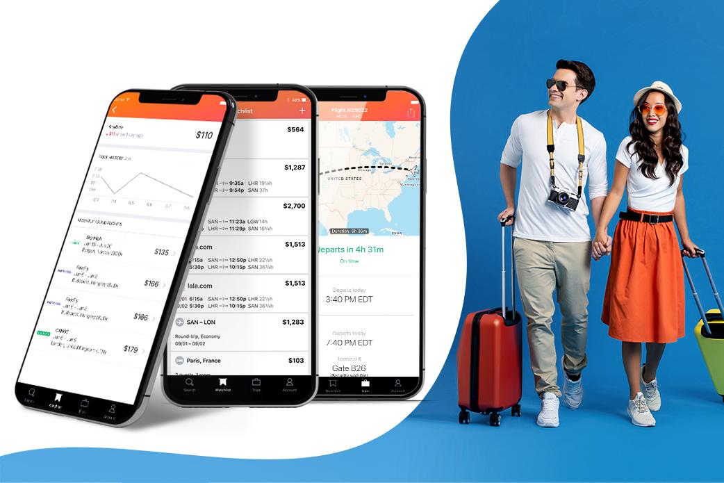 travel app example