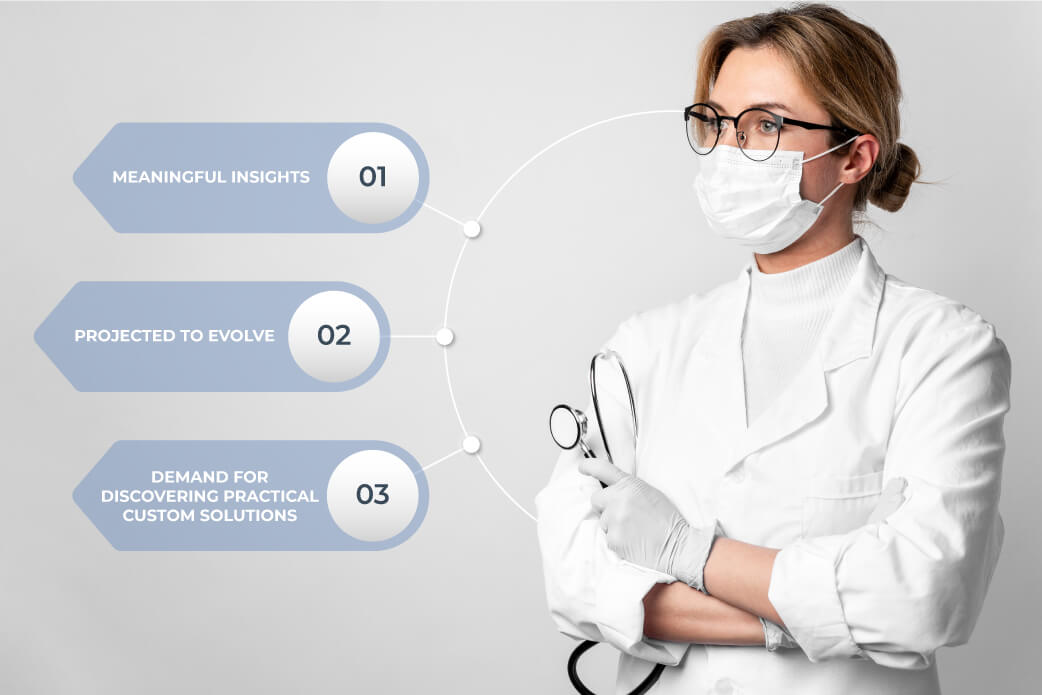 Challenges of deep learning healthcare projects