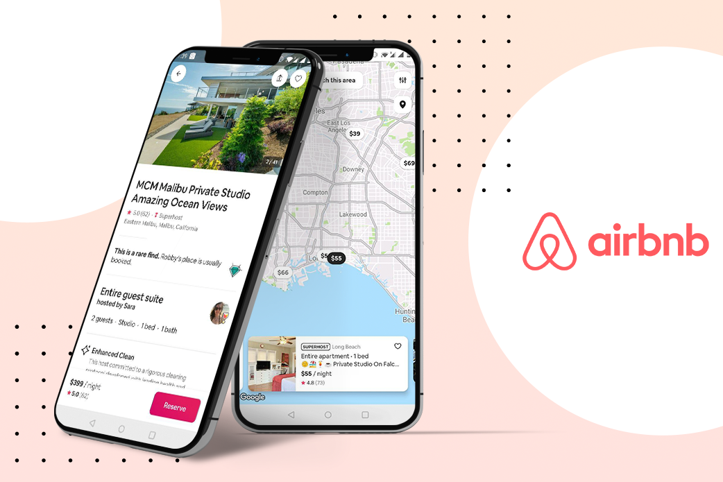 location-based apps ideas - airbnb