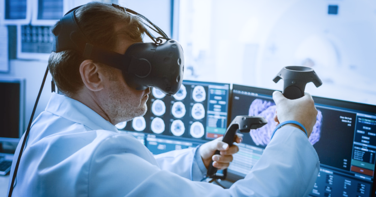 vr in healthcare industry