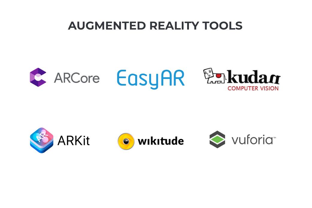 ar app development tools