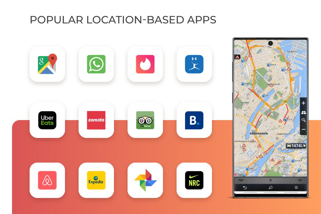 popular location-based social apps