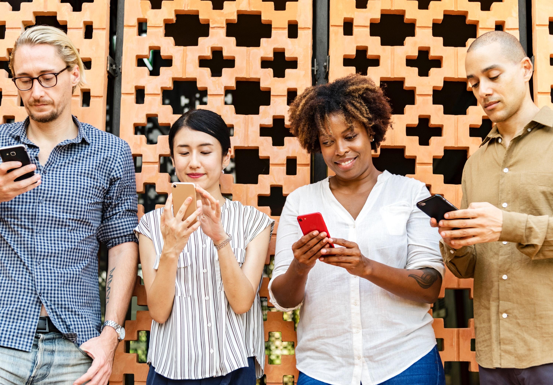 Usage of social media apps