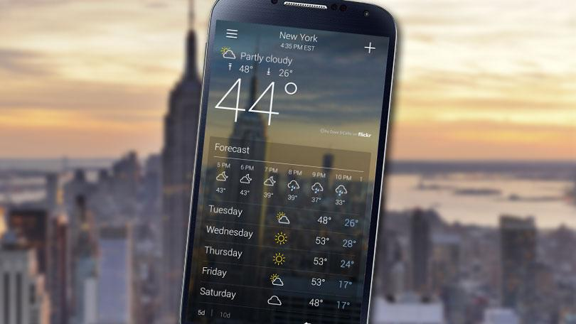 create weather app