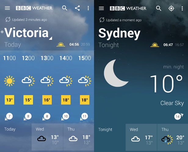 how to make a weather app